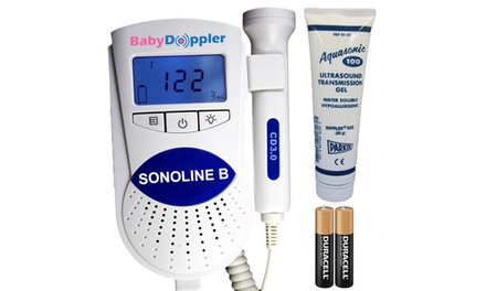 Sonoline B Fetal Doppler - The authentic USA Approved Fetal Doppler Was: $249.95 Now: $44.95.