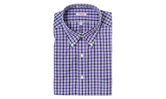 IZOD Regular Fit Wrinkle-Free Dress Shirt A1706