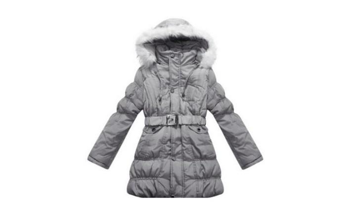 Girls' Padded Winter Jacket | Groupon