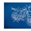 Gearhead Blueprint Art