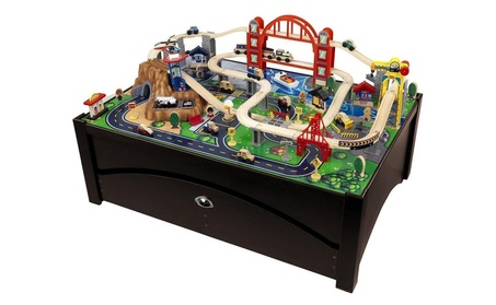 kidkraft waterfall junction train table instructions