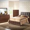Closeout: Butler Brown Queen Modern Bed