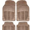 Heavy Duty Rubber Car Floor Mats (4-Piece)