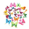 Creative Double-Layer Color Butterfly Wall Decals