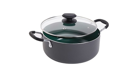 Gibson 92138.02 Gh 5 qt. Ceramic Dutch Oven Green photo