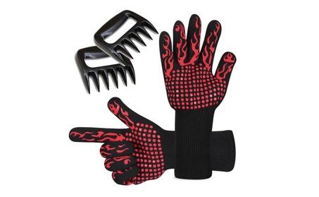 Prumya BBQ Gloves Heat Resistant and Meat Shredder Claws Set 76ecf7c4-5a26-438b-964e-98ebb0e06685