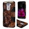 Insten Camouflage Hard Hybrid Case For Lg G Flex 2 Brown/black