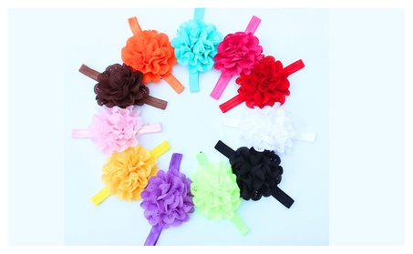 Baby Girl Flower Headband (10 pcs) 17046517-6a22-4463-8502-9013d4239785