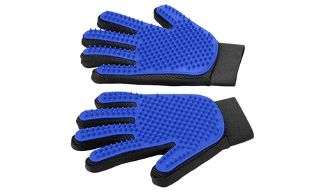 New Pet Grooming Glove Gentle Deshedding Brush Glove Massage Tool 31b1b795-9cbd-4aff-9a89-d861f8a5eb0d