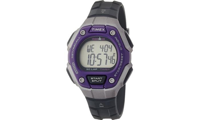 5a841f5ac Timex Women's Ironman 30-Lap Digital Quartz Mid-Size Watch | Groupon