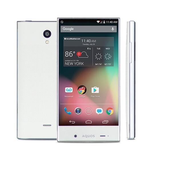 Sharp Aquos Crystal w/ 100% Free Mobile Phone Service FreedomPop - White