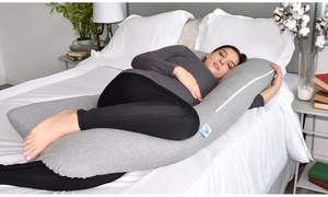 PharMeDoc U-Shaped Full-Body Pregnancy Pillow