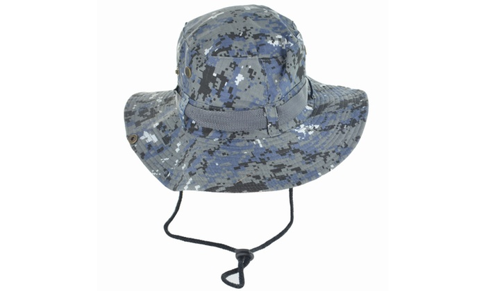 Faddism Camo 3 Wide Brim Men Outdoor Hat