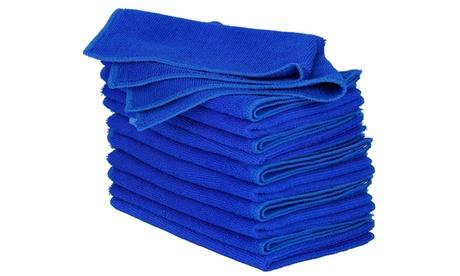 iMounTEK Ultra-Absorbent Lint/Streak/Scratch Free Car Cleaning Towels (10-Pack)