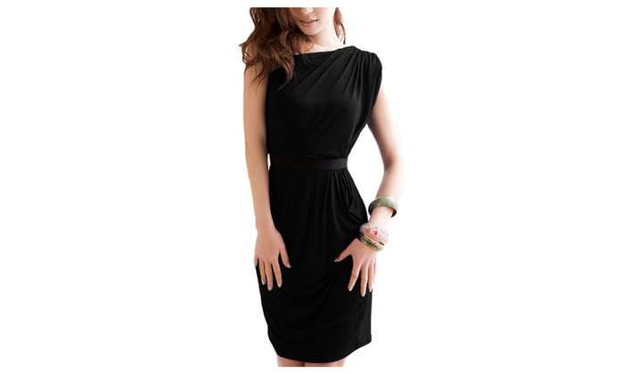 Women's Sleeveless Slim Fit Stylish Simple Casual Dresses