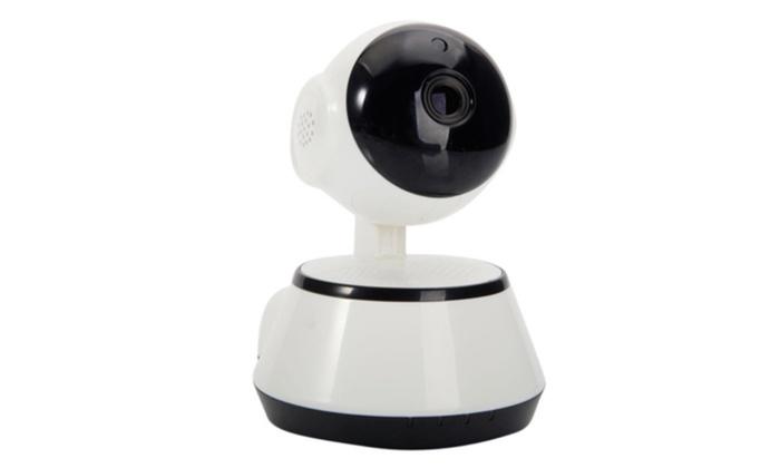 720P Wireless Pan Tilt Network Home CCTV IP Camera IR Night Vision WiFi Webcam