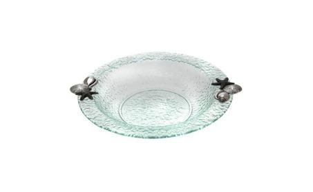 Thirstystone NG022 Glass Round 14 Bowl - Shells 98bf0855-90a9-407d-bcc4-5b75b7fc5a36