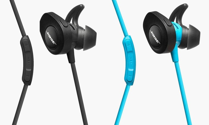 Bose Soundsport Wireless Bluetooth In Ear Headphones Refurbished Groupon