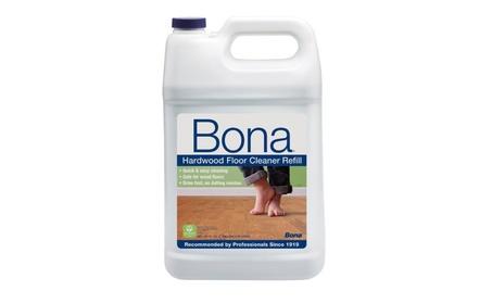 Bona Hardwood Floor Cleaner Refill, 128 oz, Clear Small Size 7623fc90-2252-42d3-9c0a-0a32b879c913