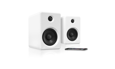Innovative Technology Rechargeable Bluetooth Wireless 50 watt Bookshelf Speakers 8bb02d45-cf66-4df0-9f58-9bfda6ebba60