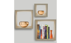 Sorbus Floating and Wall-Hanging Shelves