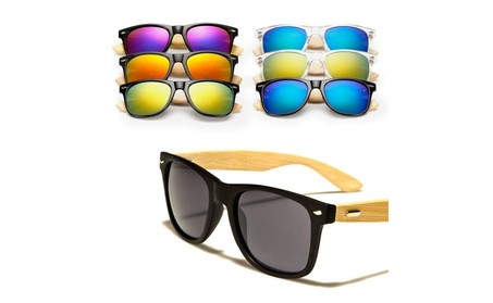 Women Mens Vintage Retro Cool Bamboo Wooden Sunglasses Glasses Eyewear 98f29cae-10cf-4d04-8b67-865f00593bb0