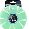 CANINE HARDWARE INC-32305 Chuckit Zipflight Max Glow Dog Toy Green & White