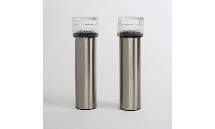 Stainless Steel Solar Led Bol