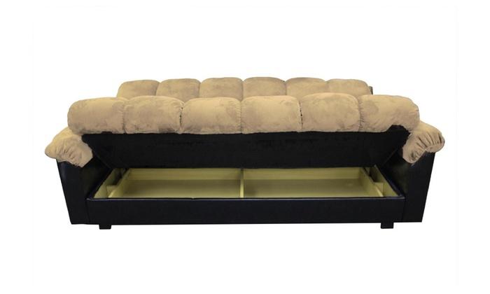 Milton Greens Stars London Storage Futon Sofa Bed | Groupon