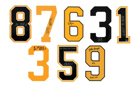 Boston Bruins Signed Autographed NHL Authentic Jersey Numbers 526118c2-0cc6-4440-9c3c-4e6b51ac7982