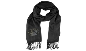 Little Earth Productions 151101-UMIS Missouri University of Pashi Fan Scarf - Bl