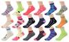 Bargain Zone: Girls' Low Cut Socks (18-Pack)