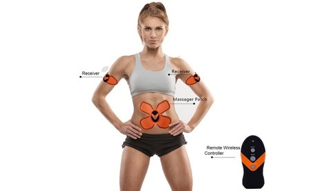 Premium Wireless EMS Body Slimming Massager Electronic Muscle Fitness System de40190a-6263-4080-a84f-72d4602bbaa8