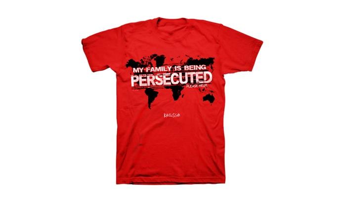 Kerusso Persecuted Church Men's T-Shirt