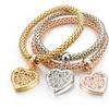 Round Chain Hollow Charm Bracelet for Women