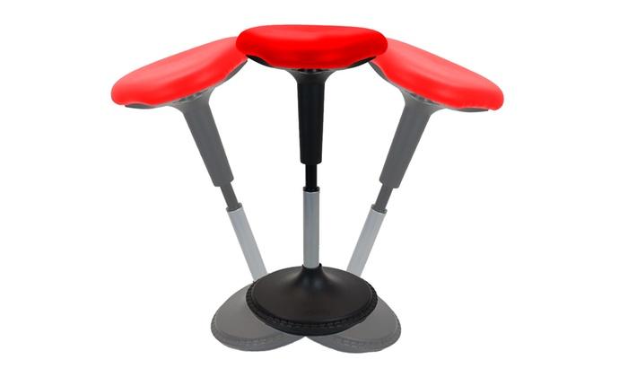 Admirable Wobble Stool Adjustable Height Standing Desk Stool Active Inzonedesignstudio Interior Chair Design Inzonedesignstudiocom