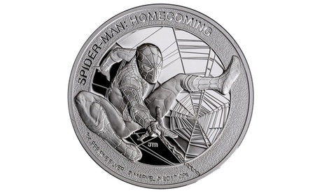 2017 Spider-Man Homecoming 1oz. Silver-Proof Dollar Coin 91d1b6d0-89c9-4fed-944b-1135865cfe0f