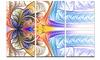 Strange Fractal Desktop Wallpaper - Abstract Digital Metal Wall Art