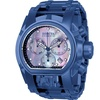 Invicta Men's 26709 Reserve Quartz Chronograph Platinum, Blue Dial Watch