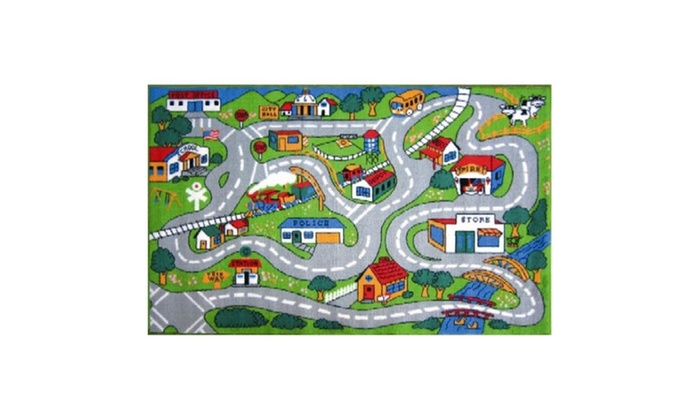La Rug Ft 003 1929 Fun Time Collection Country 19 X 29 Inc