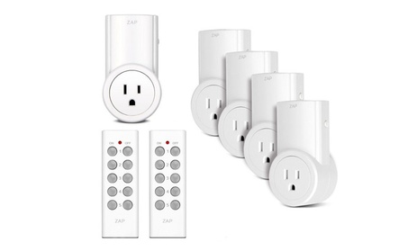 Wireless Remote Control Power Outlet w/Remotes (5pk) photo