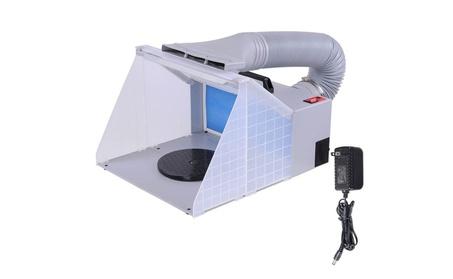 Portable Hobby Airbrush Paint Spray Booth Kit Exhaust Filter 6178b86c-4e5b-4476-982d-28433c440f81