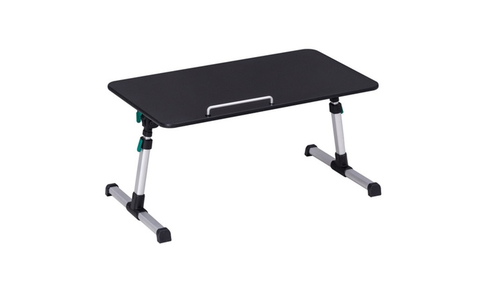 Portable Height Adjustable Laptop Bed Tray Table Standing Tray | Groupon