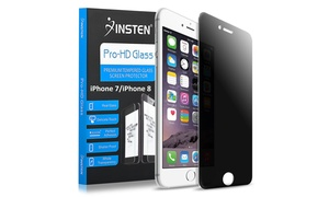 Insten PRIVACY Tempered Glass Screen Protector for iPhone 7/8 & 7 Plus/8 Plus