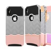 Protective Shockproof Hybrid Hard Case for iPhone X, 7/8,7 Plus/8 Plus