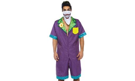Leg Avenue Men's Super Villain Comic Book Halloween Costume