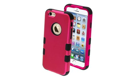 Shockproof Tuff Hybrid Hard Silicone Case Cover For iPhone 6 6s 4.7...