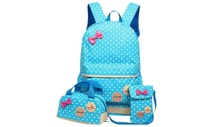 Warmword 3pcs School Backpack Handbag Purse Teen Girls for School ... 88df9e2313671