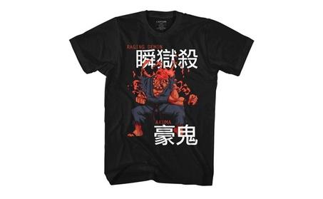 Street Fighter Mens Akuma T-Shirt 15900bc4-3347-4942-8177-04e367169d05