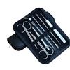 7 in 1 Acne  Eyebrow Scissors Set Comedone Extractor Tool Pimple Needle